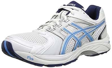 ASICS Women's Gel Tech Neo 4 Walking Shoe,White/Periwinkle/Ink,6 M US