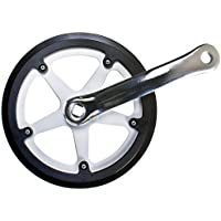 NiceDream68 Bicycle Bike Cycling Chainring Sprockets Cranksets Guard Protector 48T 5bolts-95mm