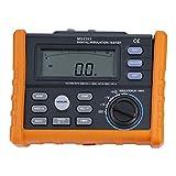 MS5203 Digital Resistance Meter 1000V Insulation Megohm Tester Resistance AC/DC Voltage Tester with LCD Backlight Display