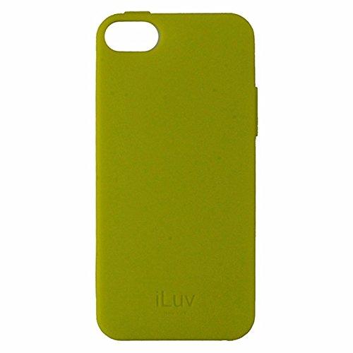 Iluv Gelato Case (iLuv Gelato Flexible Gel Case for Apple iPhone 5/5s/SE - Neon Yellow)