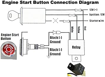 Amazon.com: VMS Racing Push Button Start Kit Ignition Engine Starter  Igniter: AutomotiveAmazon.com
