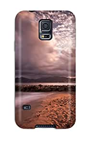 For Galaxy S5 Protector Case Beach Phone Cover