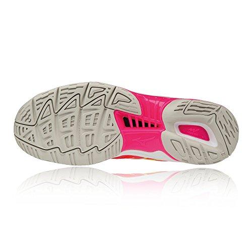 Mizuno Shoes Red SS18 Women's Netball Wave Phantom gxqgP8