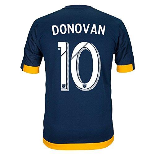 リングレット等々叫ぶAdidas DONOVAN #10 LA Galaxy Away Soccer Jersey 2016 (Authentic name & number) /サッカーユニフォーム ロサンゼルス?ギャラクシー アウェイ用 ドノバン
