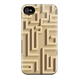 DaiCMrph MoqYijO2470uPWfy Case Cover Iphone 4/4s Protective Case Labyrinth