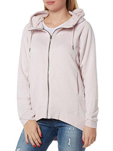 Nike Damen Modern Cape Kapuzenpullover Barely Rosa/White/Black