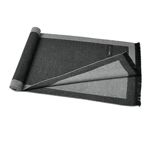Hommes Automne Coton Changer Rectangle Hiver Amdxd 180cm Pour Écharpe Gris S5qnv