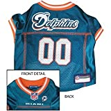 Miami Dolphins NFL Dog Jersey – Medium, My Pet Supplies