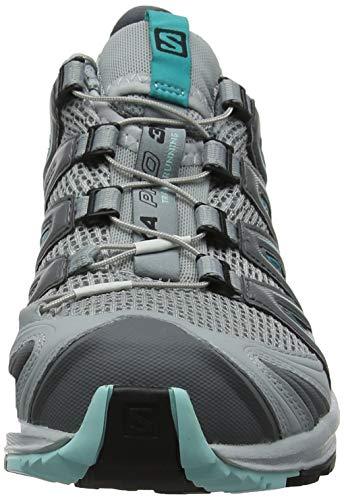 Mujer Trail 3d Zapatillas Para Xa pearl Pro quarry Blue W Running turquesa Gris De aruba Salomon Blue zBqCU