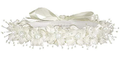 AMJ Dresses Inc Girls One Size Ivory Flower Girl Hair -