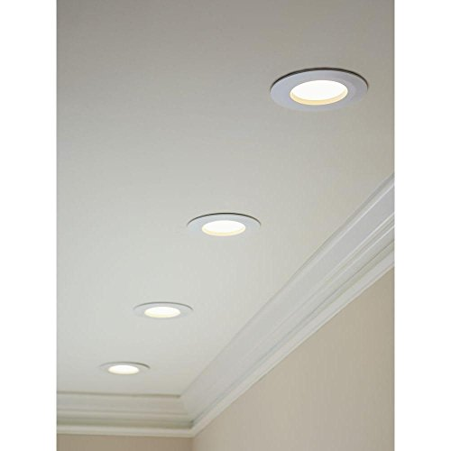 Commercial Electric 6 in. Recessed White LED Trim - Recessed Light Fixtures - Amazon.com  sc 1 st  Amazon.com & Commercial Electric 6 in. Recessed White LED Trim - Recessed Light ... azcodes.com