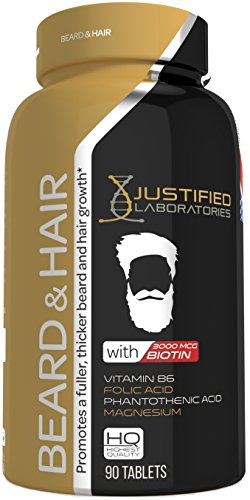 Mens-Beard-and-Hair-Growth-Supplement-Contains-Biotin-and-Esstential-Vitamins-DHT-Blocker-for-Hair-Loss-and-Baldness-Promotes-a-Fuller-Thicker-Beard-Mustache-Fast-Facial-Hair-Pills
