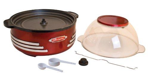 082677412027 - Nostalgia SP300RETRORED Retro Series 6-Quart Stirring Popcorn Popper carousel main 3