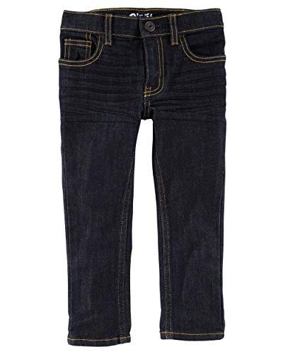 (Osh Kosh Boys' Toddler Skinny Jeans, True Rinse Wash, 4T)