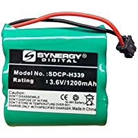 Radio Shack 23-897 Cordless Phone Battery Ni-MH, 3.6 Volt, 1200 mAh - Ultra Hi-Capacity - Replacement for Panasonic HHR-P401 Rechargeable Battery