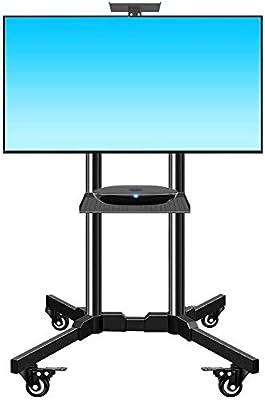 HLZ Supporto de TV, LCD y computadora Suelo de TV móvil del ...