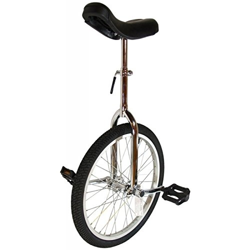 Cyclists' Choice By-904A 24'' Alloy Wheel Unicycle Chr