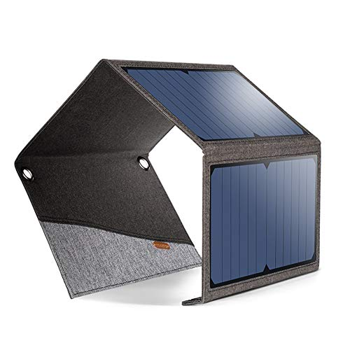 Solar Charger TBMARS 21W Solar Charger with 2-Port USB Charger Portable Highly Efficient Foldable and Waterproof Solar Panel for Smartphones Tablets and Camping - For Panel Travel Solar