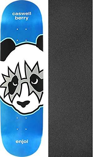 Enjoi Skateboards 8.12 Caswell x Berry B07K4436DW Kiss メタリックブルー スケートボードデッキ 樹脂 7 – 8.12 x 31.7インチ Jessupグリップテープ付き – 2点セット B07K4436DW, あすに届けるお花屋さん輝花:1d577eaf --- grupocmq.com