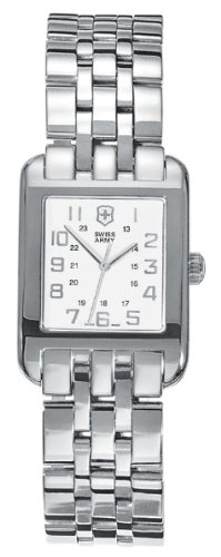 Victorinox Women's 24022 Alliance Steel Watch Rectangle Swiss