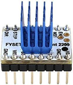 LWQJP TMC2209 V2.0 3pcsのステッピングモータドライバスーパーサイレントStepsticksミュートドライバーボードサイドワインダー3Dプリンタ3Dプリンタの付属品については256マイクロステップ