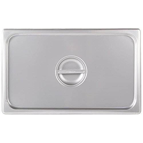Royal Industries Notched Full-Size Steam Table Pan, 20 3/4'' L x 12 3/4'' W, Stainless Steel, Commercial Grade - NSF Certified