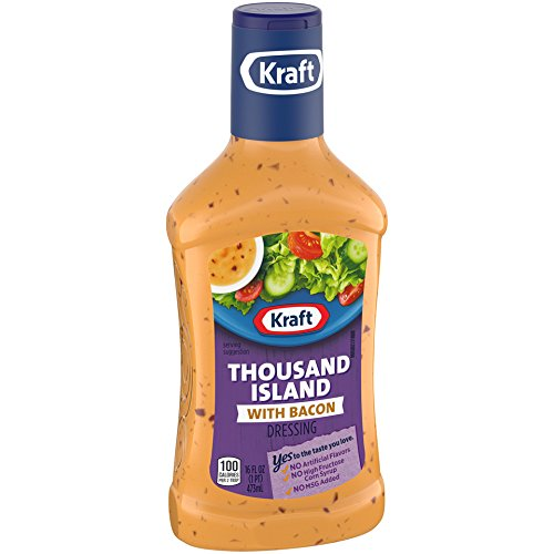 Price comparison product image Kraft Brand Dressing Thousand Island with Bacon,  16 oz