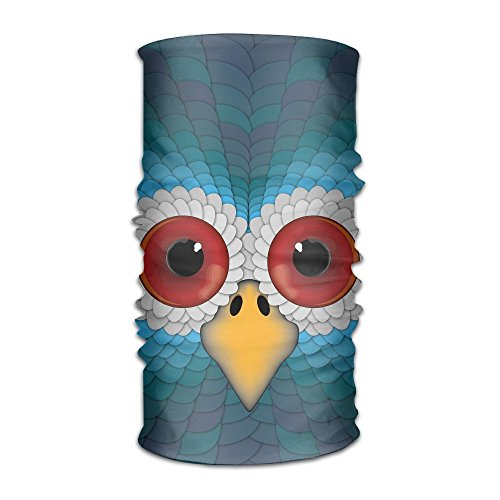 16-in-1 Multifunctional Headwear Magic Scarf Owl Painting Neck Gaiter Headband Bandana For Motorcycle Running Fishing Hiking Workout Yoga Fitness Cycling Exercise