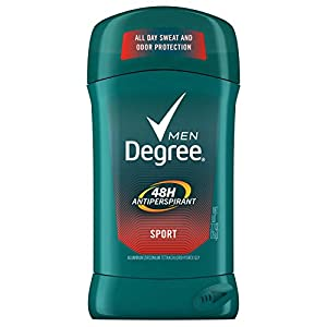 Degree Men Original Protection Antiperspirant Deodorant, Sport, 2.7 oz