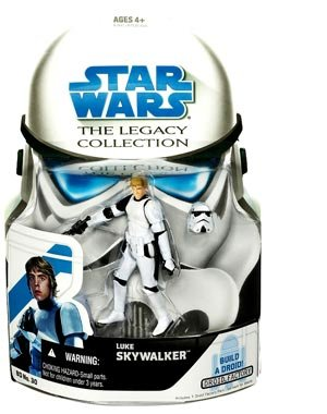 Star Wars Legacy Collection Build-A-Droid Factory Action Figure BD No. 30 Luke Skywalker (Stormtrooper)