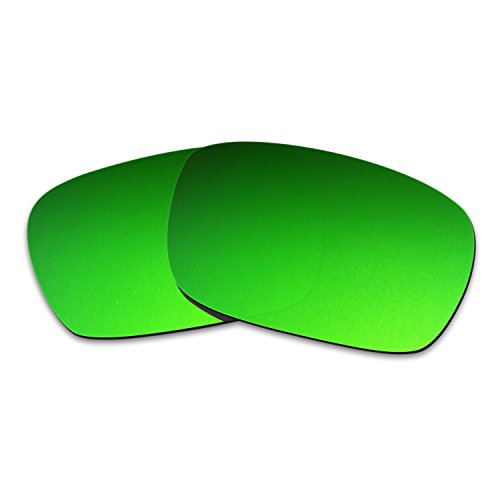 Hkuco Mens Replacement Lenses For Spy Optic Helm Sunglasses Emerald Green - Lenses Spy Helm