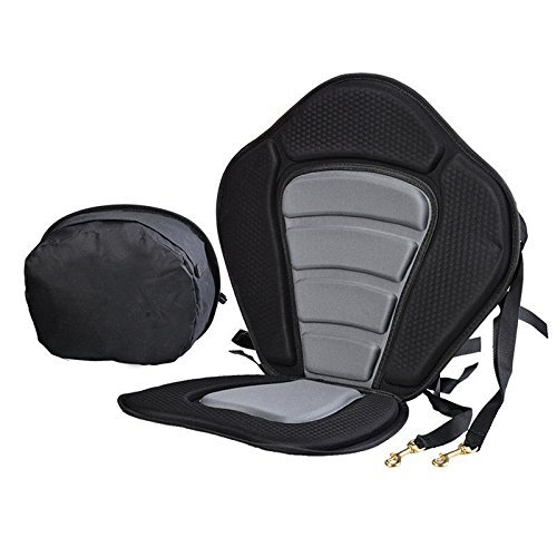 - Kayak Seat, Premium Kayak Seats with Adjustable Anti skid EVA Pad and Detachable Storage Bag
