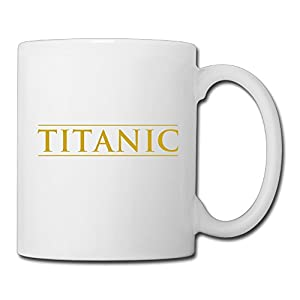 Christina Titanic Movie Logo Ceramic Coffee Mug Tea Cup White