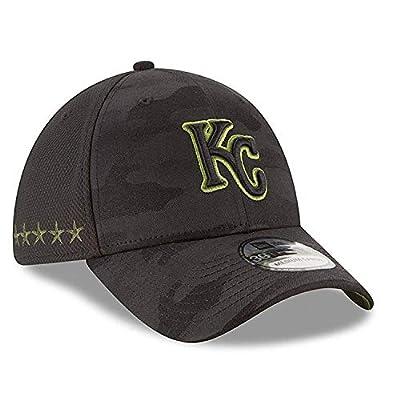 New Era Authentic Kansas City Royals Black 2018 Memorial Day 39THIRTY Flex Hat