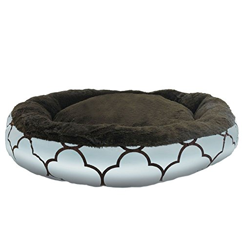 Eco Friendly Round Extra Plush Soft Dog Pet Cat Mattress Bed Pillow Cushion -- Made in America