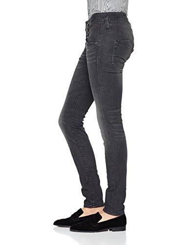 Schwarz Powerstretch Femme Accessoire 602 Herrlicher Denim Slim Titanium Pitch CwYq1