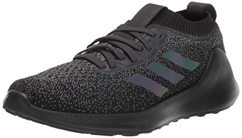 adidas Men's PureBounce+ Running Shoe, Carbon/Core Black/Core Black, 11.5 M US
