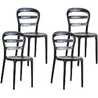 resol set de 4 sillas de diseño Frappé