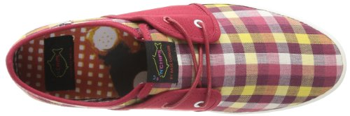 Base London Spam 2 - Zapatillas Rojo (Rouge (Aqs Picnic Check Red))