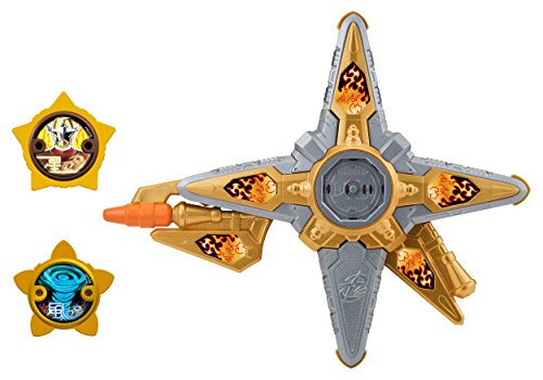 Power Rangers Super Ninja Steel DX Gold Ninja Battle Morpher, Gold Ninja -