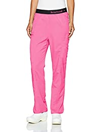 HeartSoul Scrubs Womens Head Over Heels So in Love Low Rise Pull-on Pant