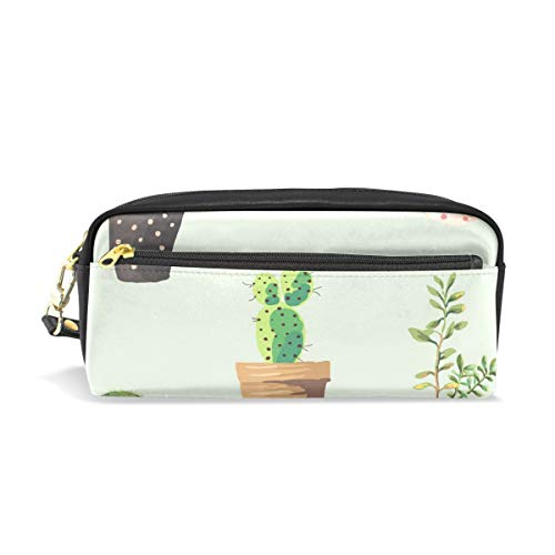 Dragon Sword Potted Plant Cute Pencil Case for Kids Girls Boys,School Student Office Stationery Organizer,Travel Pen Pencil Pouch Cosmetic Bag Makeup ()