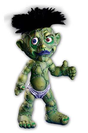 Morbid Enterprises Stitchenstein Zombaby, Green/Black/White/Blue, One Size
