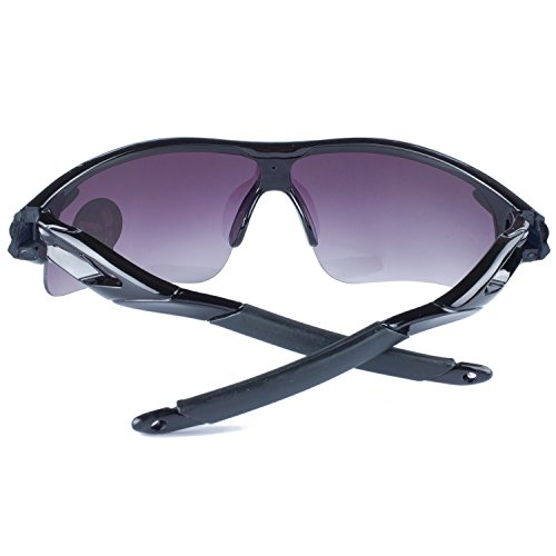 Negro Gris Ciclismo Sol De La Conducción Moda Libre Bicicleta Lentes De Aire Montura Pesca Al Deportes ANVEY Gafas Gafas Para Gafas de qRfwXvav
