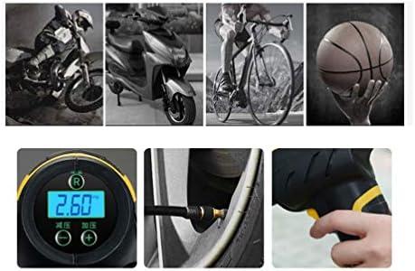 Garneck 車のタイヤインフレーターハンドヘルドデジタルプライムインフレーターエアコンプレッサーエアポンプオートバイクカーバイク用