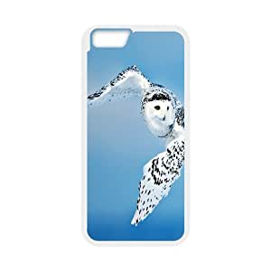 [Owl Series] IPhone 6 Plus Cases Flying Owl, Dustin - White