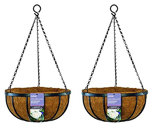 - Gardman R212 Georgian Hanging Basket with Coco Liner, 16