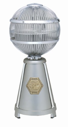 UPC 840506043541, Fanimation FP3320SN Fargo Tabletop Fan, Satin Nickel/Chrome Finish