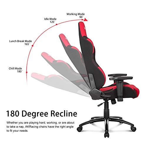 Amazon.com: AKRacing Core Series EX-Wide Gaming Chair with Wide Seat, High and Wide Backrest, Recliner, Swivel, Tilt, Rocker and Seat Height Adjustment ...