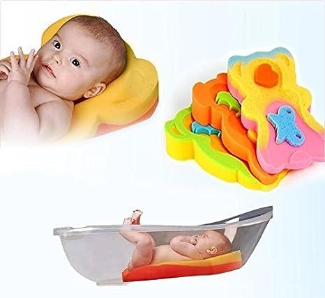 Badewannenschwamm f/ür Babys und Kleinkinder /über 6 kg bis 65 cm hoch